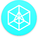 Logo for the cryptocurrency Arcblock (ABT)