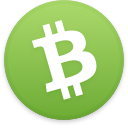 Logo for the cryptocurrency Bitcoin Cash (BCH)