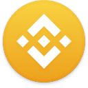 Logo for the cryptocurrency Binance Coin (BNB)