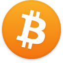 Logo for the cryptocurrency Bitcoin (BTC)