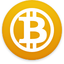 Logo for the cryptocurrency Bitcoin Gold (BTG)