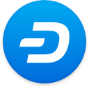 Logo for the cryptocurrency Dash (DASH)