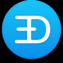 Logo for the cryptocurrency EtherDoge (EDOGE)