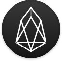 Logo for the cryptocurrency EOS (EOS)