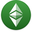 Logo for the cryptocurrency Ethereum Classic (ETC)