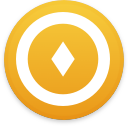 Logo for the cryptocurrency Gold Cash (GOLD)