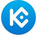 Logo for the cryptocurrency KuCoin Shares (KCS)