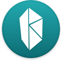 Logo for the cryptocurrency Kyber Network (KNC)