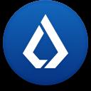 Logo for the cryptocurrency Lisk (LSK)