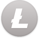 Logo for the cryptocurrency Litecoin (LTC)