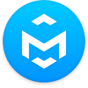 Logo for the cryptocurrency MiniEverDoge (MED)