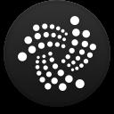 Logo for the cryptocurrency IOTA (MIOTA)