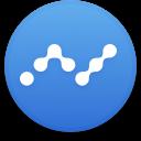 Logo for the cryptocurrency Nano (NANO)