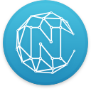 Logo for the cryptocurrency Nucleus Vision (NCASH)