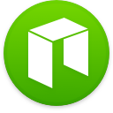 Logo for the cryptocurrency NEO (NEO)