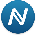Logo for the cryptocurrency Namecoin (NMC)