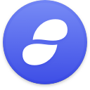 Logo for the cryptocurrency Status (SNT)