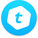 Logo for the cryptocurrency Telcoin (TEL)