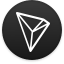 Logo for the cryptocurrency TRON (TRX)