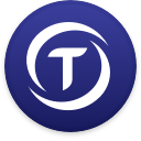 Logo for the cryptocurrency TrueUSD (TUSD)