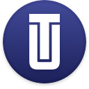 Logo for the cryptocurrency UTRUST (UTK)