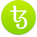 Logo for the cryptocurrency Tezos (XTZ)