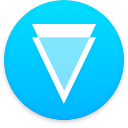Logo for the cryptocurrency Verge (XVG)