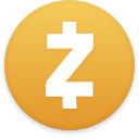 Logo for the cryptocurrency Zcash (ZEC)