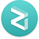 Logo for the cryptocurrency Zilliqa (ZIL)